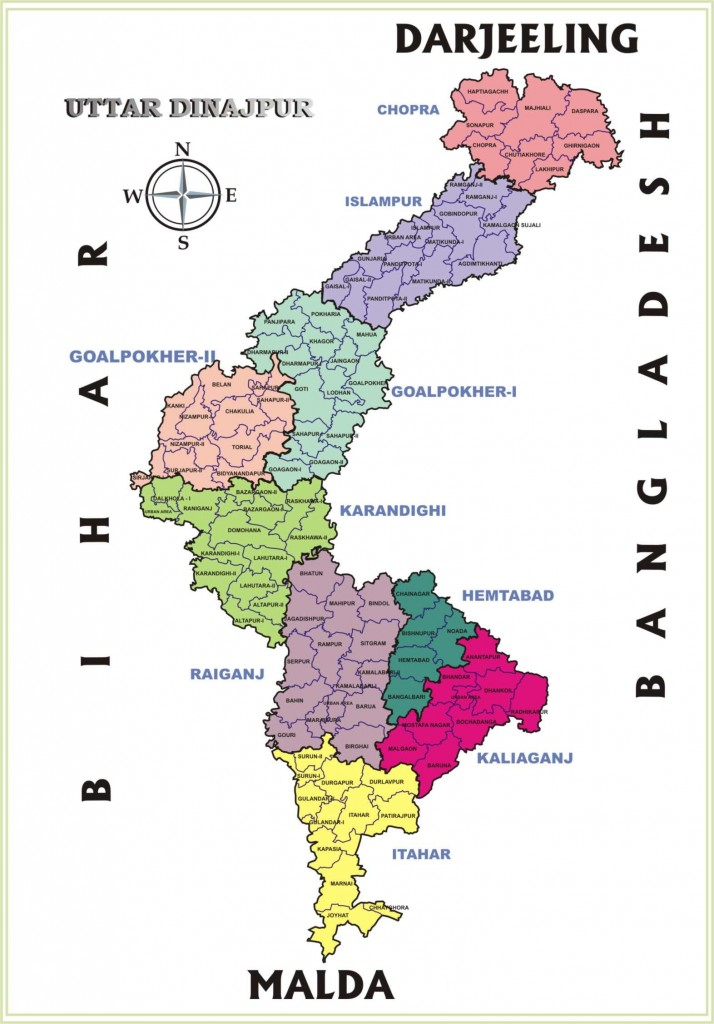 uttar-dinajpur-map